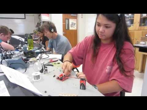 Amy's Starter Project (Theremin) - 2014 Houston BSE