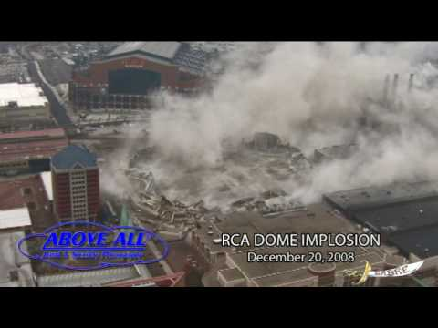 RCA DOME IMPLOSION - Official Aerial Video