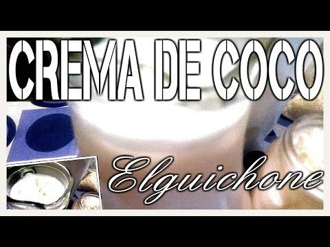 AGUA DE CREMA DE COCO / Cocina Practica