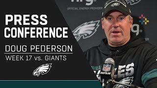Doug Pederson Proud of the Eagles after Clinching the NFC East | Eagles Press Conference