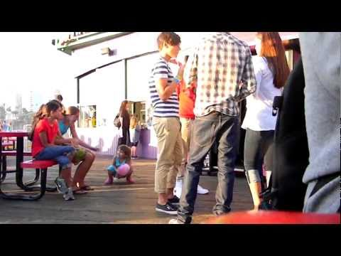 One Direction at the Santa Monica Pier 7/11/11