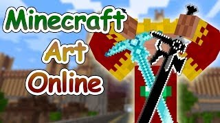 M.A.O #01 | Minecraft Art Online | Byto | 720p