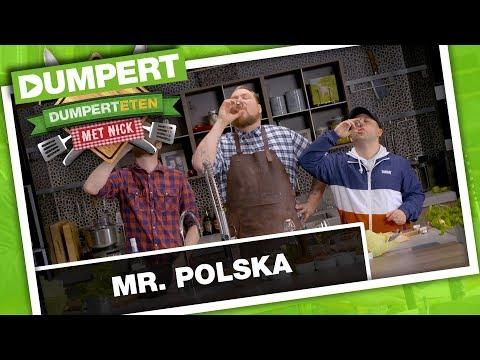 Mr. Polska bij DumpertEten met Nick!