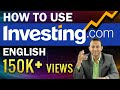 How to use Investing.com for Technical Chart Analysis ...