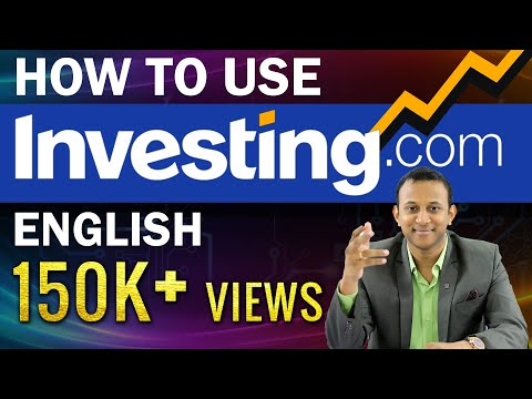 How To Use Investing.com For Technical Chart Analysis (Tutorial)