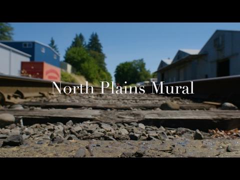 North Plains Mural