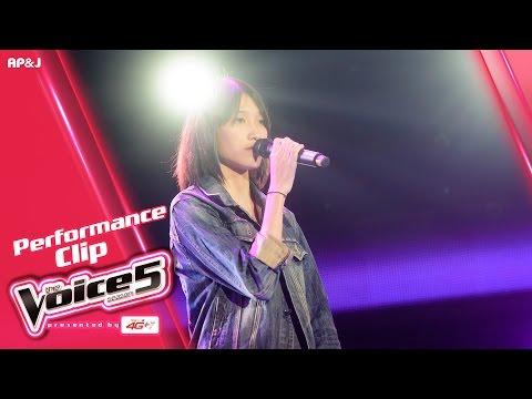 The Voice Thailand - ลูกกวาด กันติชา  - ร้องไห้ง่ายง่ายกับเรื่องเดิมเดิม -  2 Oct 2016