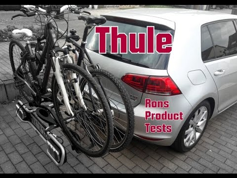 thule euroride 940 anh ngerkupplung fahrradtr ger montage und test beim golf 7 youtube. Black Bedroom Furniture Sets. Home Design Ideas