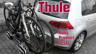 Thule EuroRide 940 Anhängerkupplung Fahrradträger Montage und Test beim Golf 7