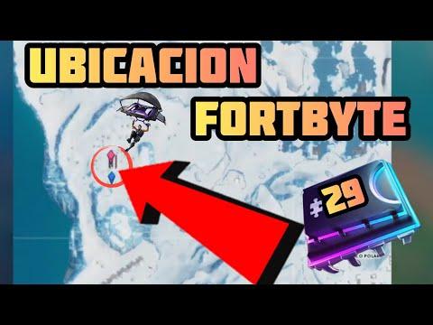 UBICACIÓN FORTBYTE #29 | FORTNITE BATTLE ROYAL | THE FIRULAYS