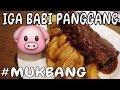 mukbang ribs iga daging babi panggang amp tom yum udon soup