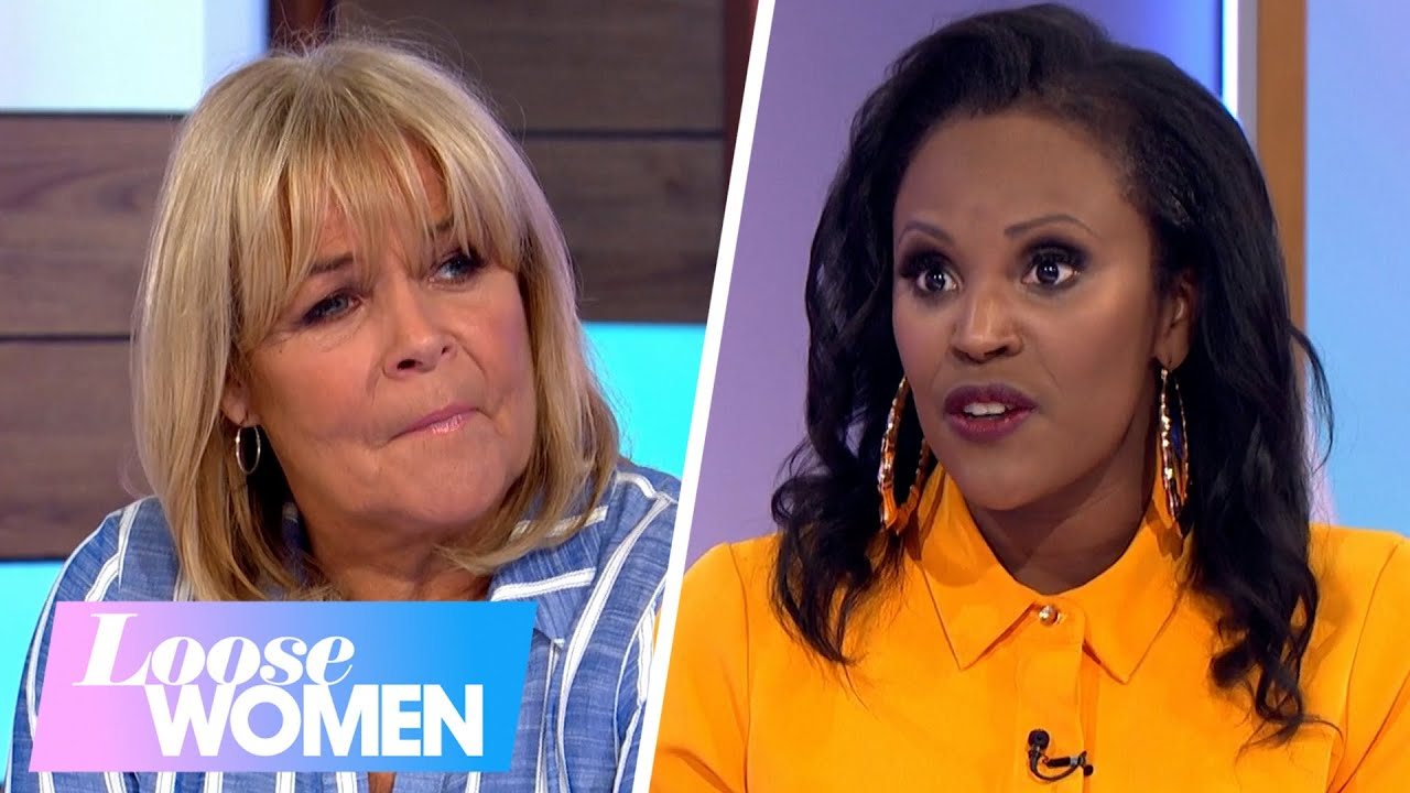 Andrea McLean Does Her Ape Impression | Loose Women - YouTube