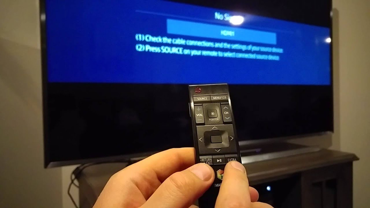 FIX Samsung SMART TV Smart Hub remote control not working How to Pair or  connect to LED UHD SUHD TV
