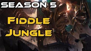 League of Legends - Risen Fiddlesticks Jungle - Full Game Commentary