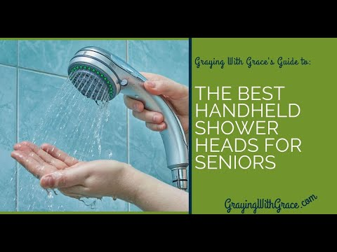Best Handheld Shower Heads for the Elderly: Long Hoses and Easy to