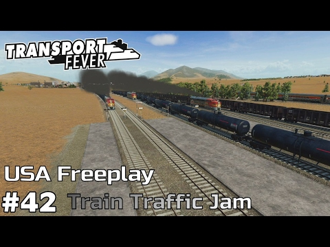 Train Traffic Jam Up [1975-77] - Transport Fever [USA Freeplay] [ep42]