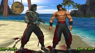 Mortal Kombat Deception LIU KANG ZUMBI - (VERY HARD) - (PS2)【TAS】