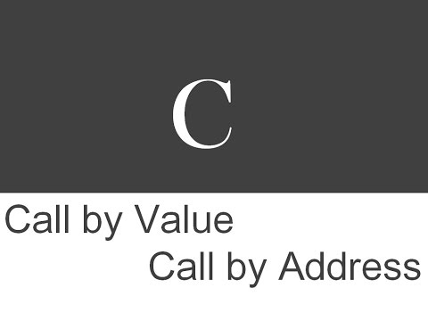 What is Differences between Call By Value and Call by Address(Pointer)