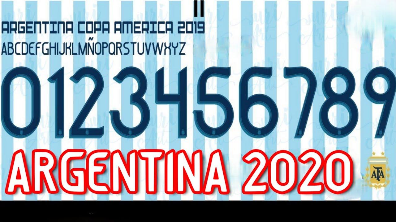 Anillo duro Representación desayuno  Tipografía Argentina Adidas 2020 (ttf y otf) - YouTube