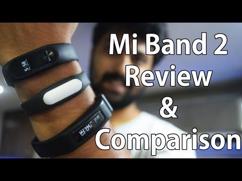 Xiaomi Mi Band 2 Review & Comparison