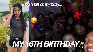 MY 16TH BIRTHDAY VLOG!! 🔞
