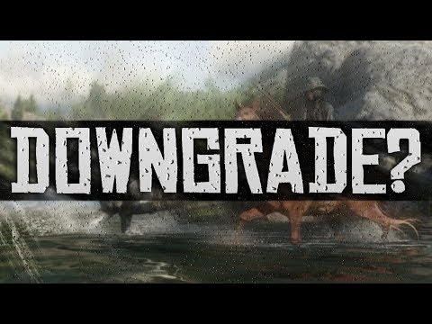 Red Dead Redemption 2 Has Been DOWNGRADED? (Rockstar Silently Release Downgrade in Patch?) thumbnail