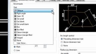[AutoCAD] Изменение размерного стиля в AutoCAD 2013.mp4
