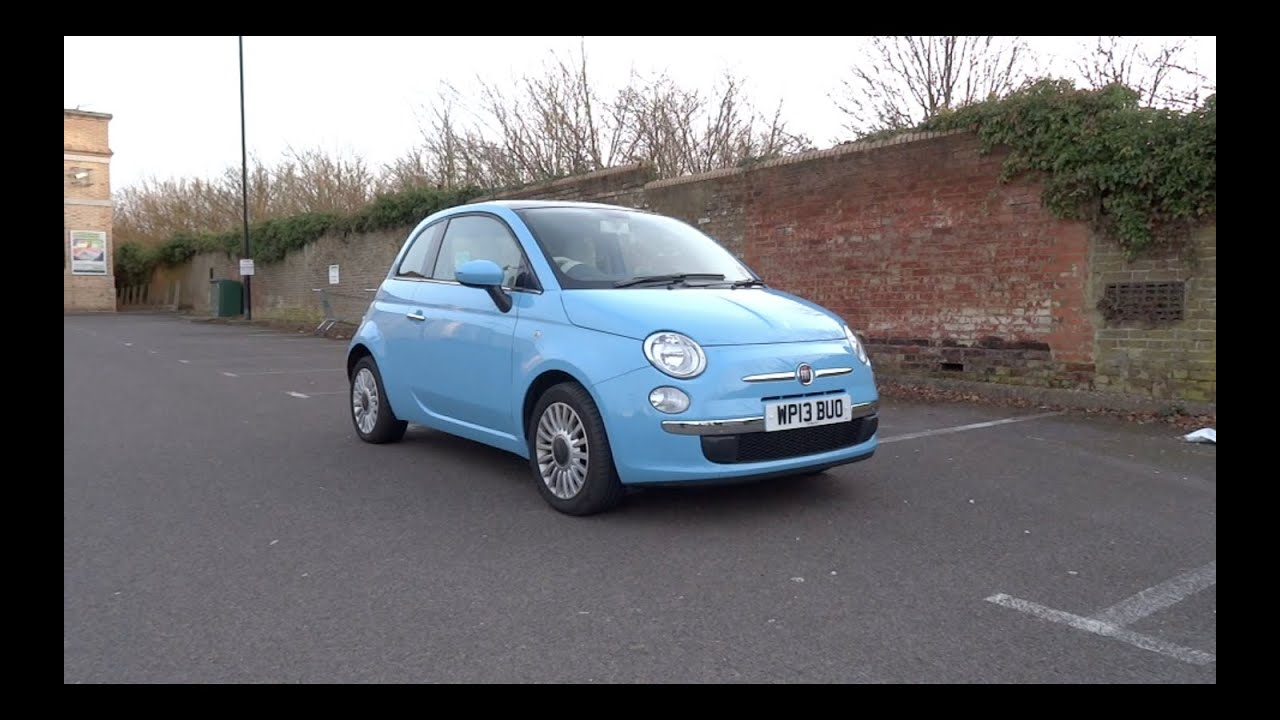 2013 Fiat 500 1 2 69 Lounge Start-Up and Full Vehicle Tour