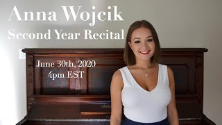 Anna Wojcik Second Year Recital
