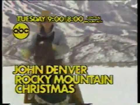 abc john denvers rocky mountain christmas promo 1 1976 - John Denver Rocky Mountain Christmas