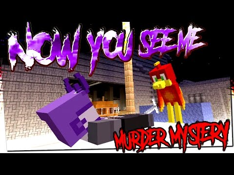 NOW YOU SEE ME !! -|- Murder Mystery - Minecraft xbox