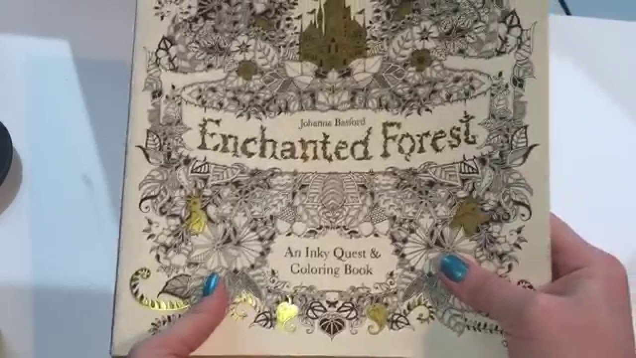 The enchanted forest coloring book review - Enchanted Forest Adult Coloring Book Review