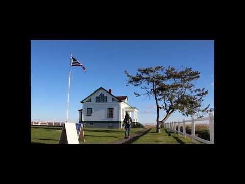 Dungeness Spit Lighthouse in Sequim, Washington