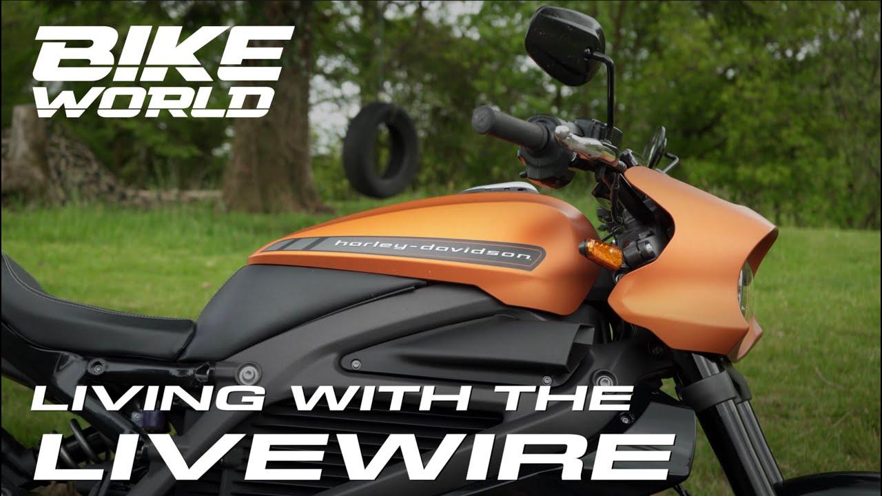 Harley Davidson LiveWire Living With (4K)