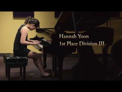 Schmitt Music Piano Competition 2017 Competitive Recital Highlights