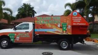 Trash Bin Cleaning Equipment Sale