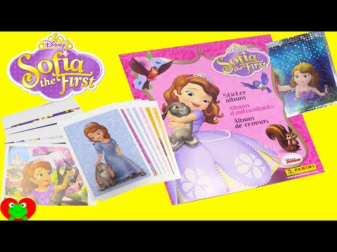 Sofia The First Collectible Sticker Album