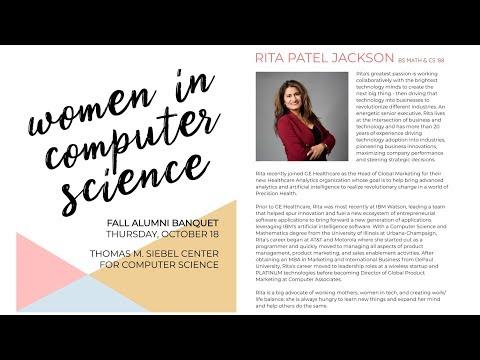 2018 Women In Computer Science Keynote Address By Rita Patel Jackson