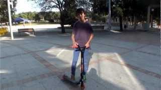 Como hacer Tailwhip, explicacion de trucos faciles para scooters