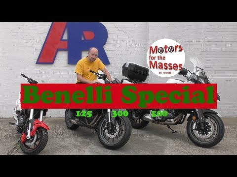 Benelli SPECIAL 125, 300, 500