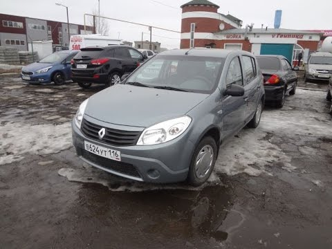 Renault Sandero 1.6 2010. Обзор автомобиля