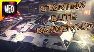 Starting Elite Dangerous - From Scratch - 2018 - [Elite Dangerous Gameplay ]