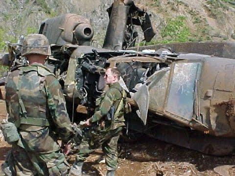 Uništeni i oboreni AH-64 Apache - akcija 'Udar groma'
