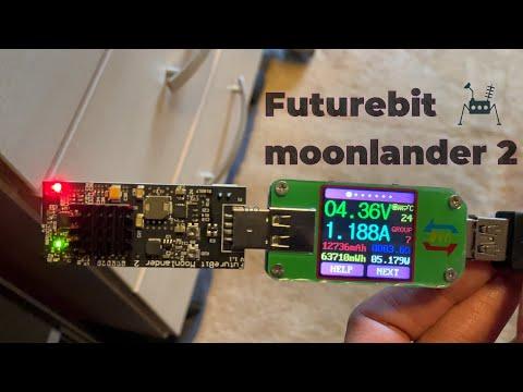 USB Crypto Miner Futurebit Moonlander 2 Review + 24 Hour Test