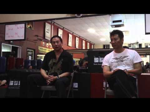 Master James Lew talks about his martial art training along with Master Philip Rhee