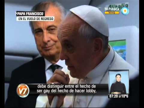 Visión 7: Papa: Gays Y Lobbies