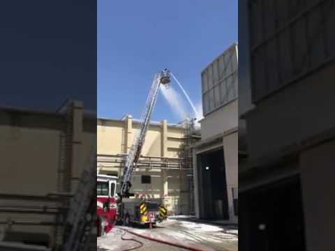 Niceville Fire Department on the scene of the McKinley Climatic Lab fire- Video by Niceville FD