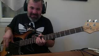 Don't worry be happy style funk bass cover
