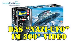 """Revell 03903 Flying Saucer Haunebu II - Das """"Nazi-Ufo"""" in aller Munde - by besserePreise.com"""