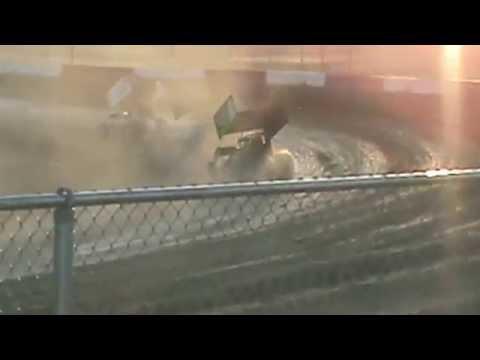 6/7/14 Anthony Farnsworth #10 Heat Part 1-Casper Speedway